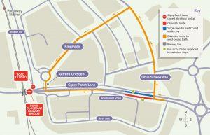 CPME Gipsy Patch Lane bus stop map