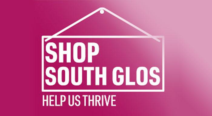 Shop South Glos sign