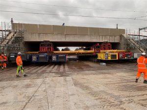 Gipsy Patch Lane - railway bridge installation